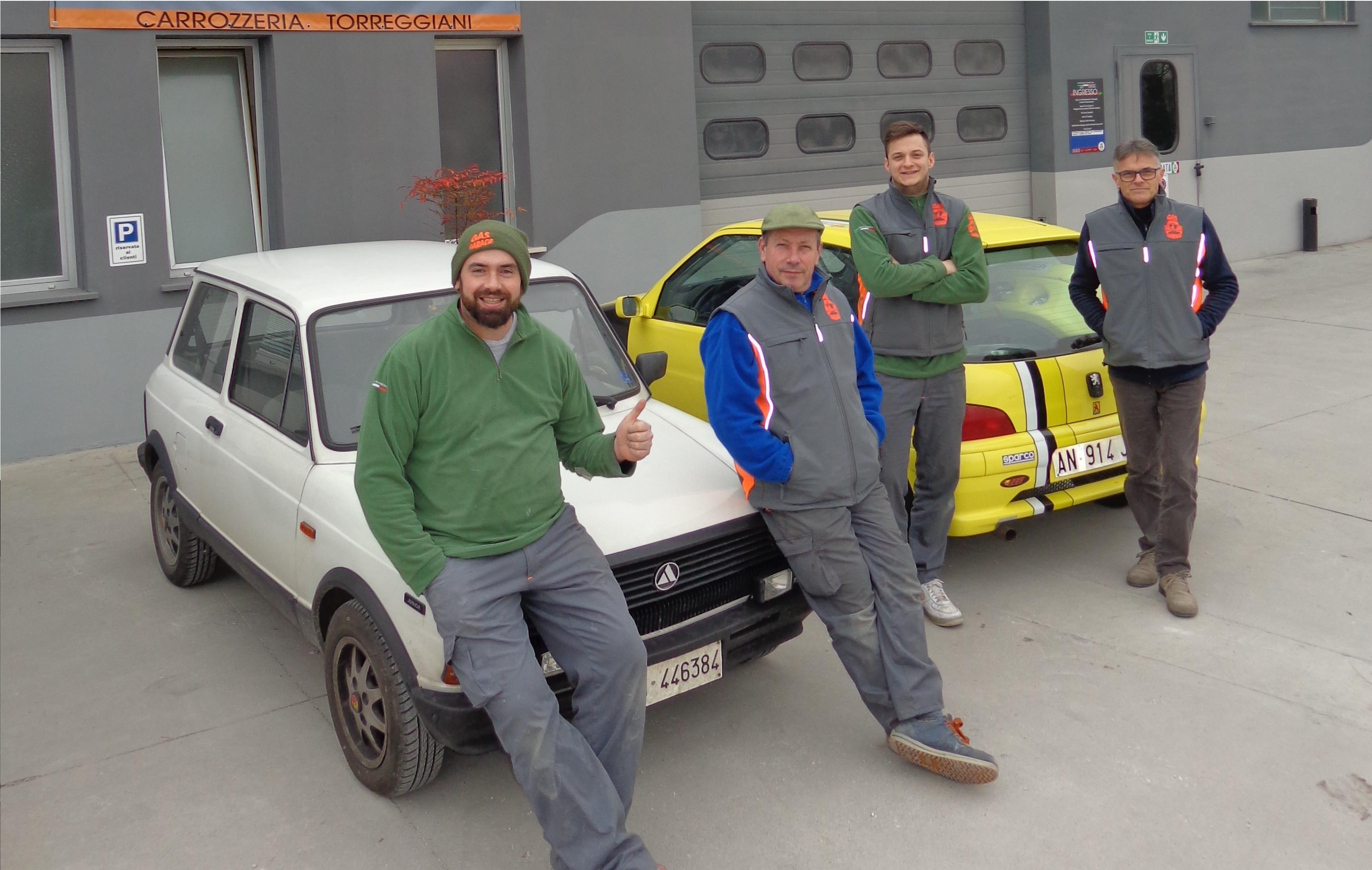 team GAS GARAGE
