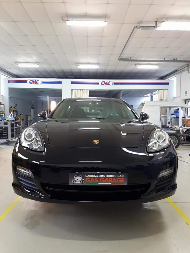 Ripristino Paraurti di una Porsche