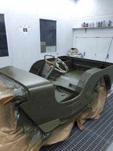 restauro Ford GPW 1942